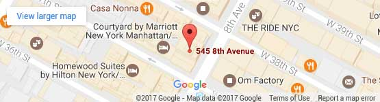545 8th Ave #1210, New York, NY 10018